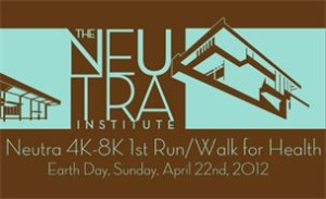 Richard Neutra Run Walk event and house tour