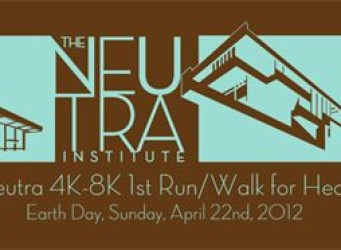 Richard Neutra Run/Walk event and house tour