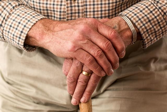 Photo of elderly man