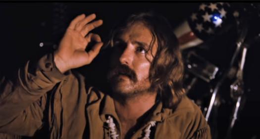 "Dennis Hopper in ""Easy Rider"" (1969)"